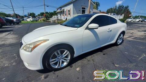 2010 Infiniti G37 Coupe for sale at RBT Automotive LLC in Perry OH