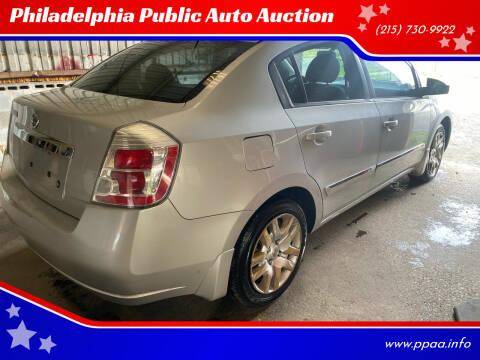 2010 Nissan Sentra for sale at Philadelphia Public Auto Auction in Philadelphia PA