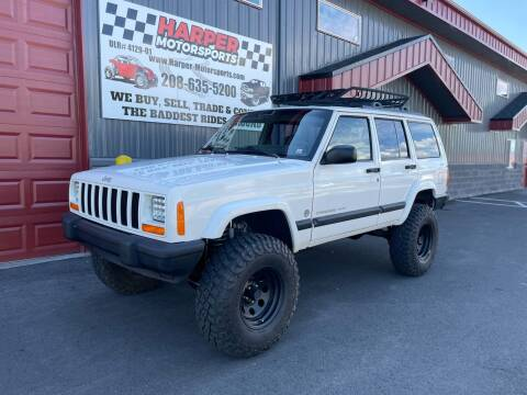 2001 Jeep Cherokee for sale at Harper Motorsports-Powersports in Post Falls ID