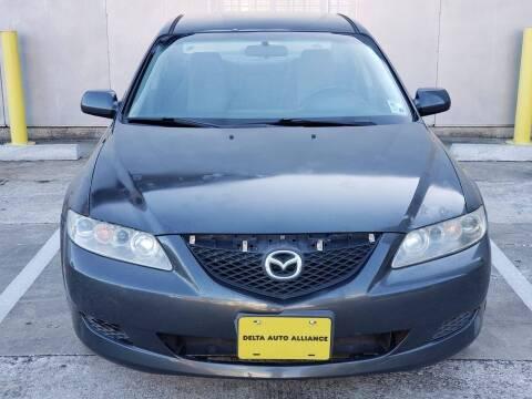 2003 Mazda MAZDA6 for sale at Delta Auto Alliance in Houston TX