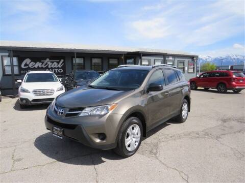 2015 Toyota RAV4 for sale at Central Auto in South Salt Lake UT