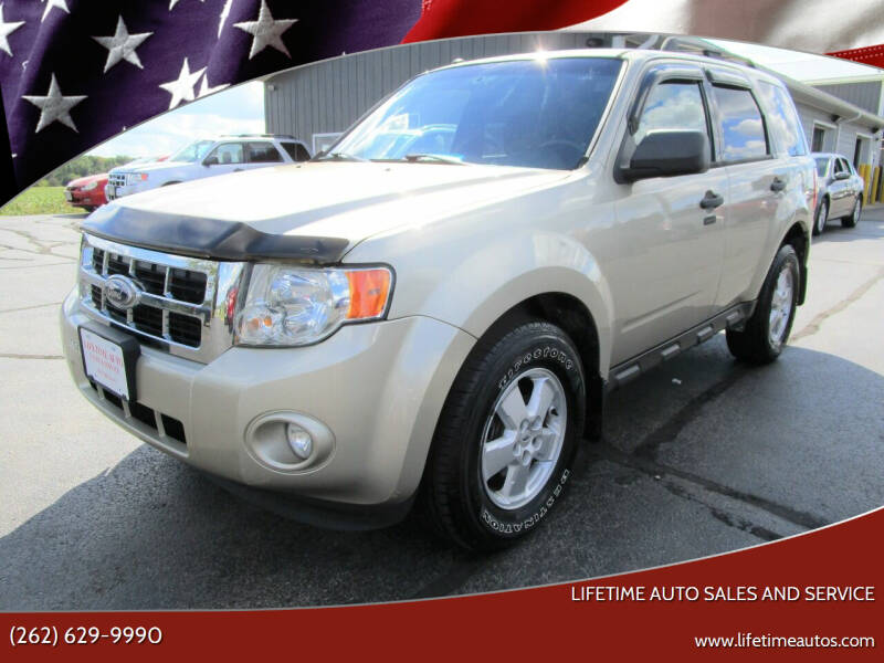 2010 Ford Escape for sale at Lifetime Auto Sales and Service in West Bend WI