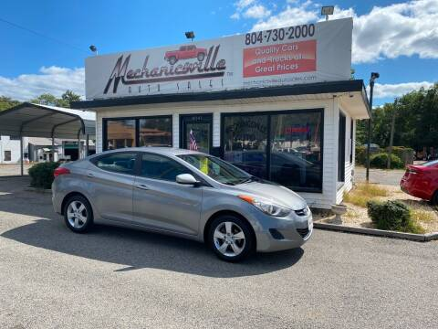 2011 Hyundai Elantra for sale at Mechanicsville Auto Sales in Mechanicsville VA