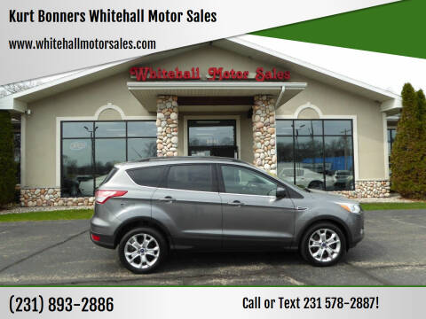 2014 Ford Escape for sale at Kurt Bonners Whitehall Motor Sales in Whitehall MI