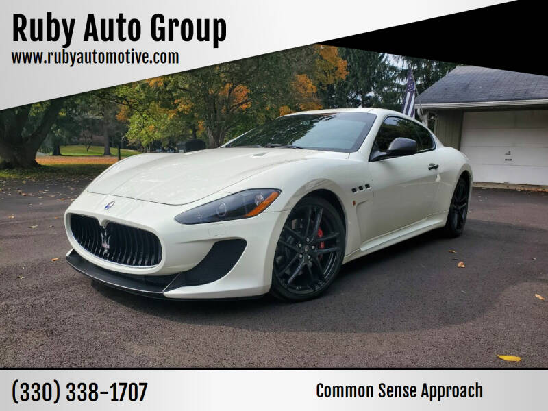 2012 Maserati GranTurismo for sale at Ruby Auto Group in Hudson OH