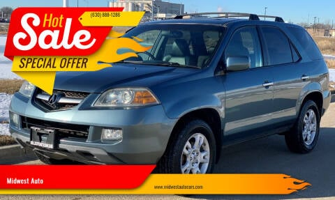 2006 Acura MDX for sale at Midwest Auto in Naperville IL