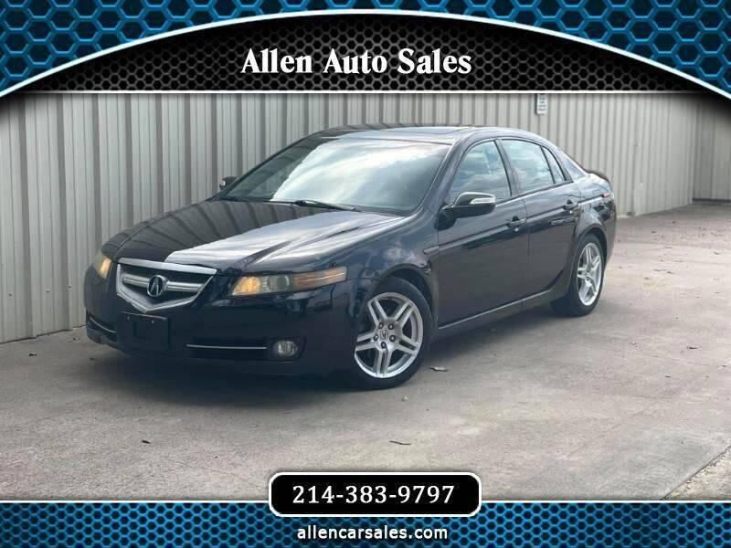 2008 Acura TL for sale at Allen Auto Sales in Dallas TX