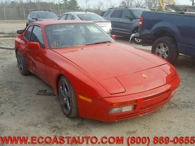 1987 Porsche 944 for sale at East Coast Auto Source Inc. in Bedford VA