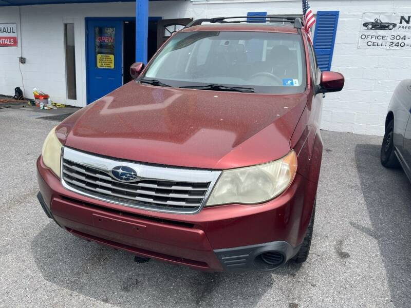 2009 Subaru Forester for sale at Noble PreOwned Auto Sales in Martinsburg WV