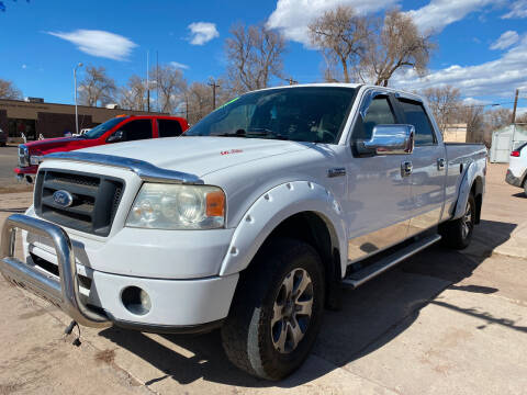 2006 Ford F-150 for sale at PYRAMID MOTORS AUTO SALES in Florence CO