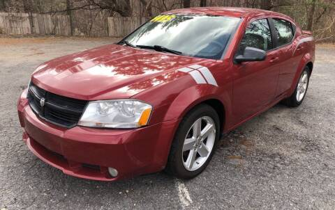 2008 Dodge Avenger for sale at Motuzas Automotive Inc. in Upton MA