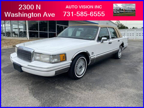 1994 Lincoln Town Car for sale at Auto Vision Inc. in Brownsville TN