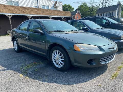 2002 Chrysler Sebring for sale at TNT Auto Sales in Bangor PA