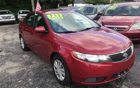 2012 Kia Forte for sale at Klein on Vine in Cincinnati OH