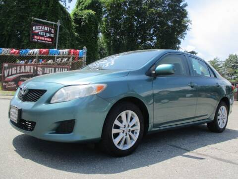 2009 Toyota Corolla for sale at Vigeants Auto Sales Inc in Lowell MA