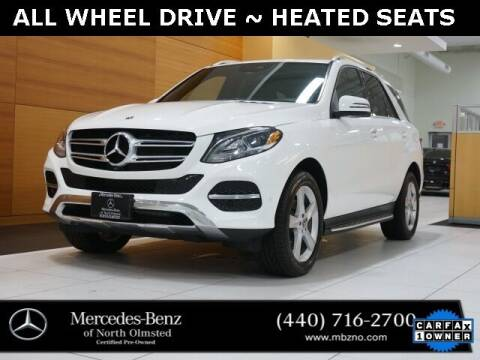 2018 Mercedes-Benz GLE for sale at Mercedes-Benz of North Olmsted in North Olmstead OH