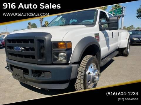2008 Ford F-450 Super Duty for sale at 916 Auto Sales in Sacramento CA