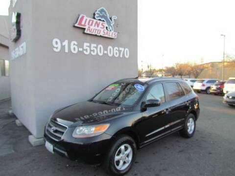 2007 Hyundai Santa Fe for sale at LIONS AUTO SALES in Sacramento CA