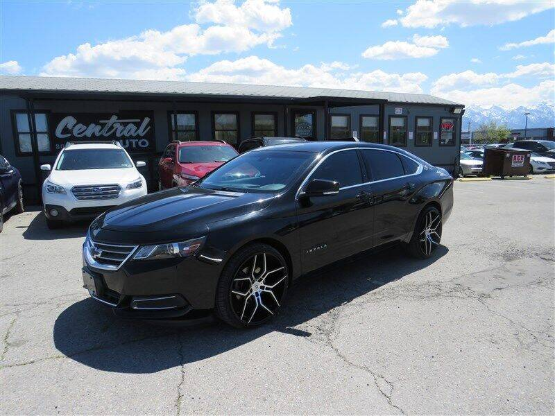 2017 Chevrolet Impala for sale at Central Auto in South Salt Lake UT