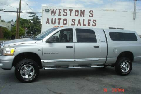 2006 Dodge Ram Pickup 2500 for sale at Weston's Auto Sales, Inc in Crewe VA