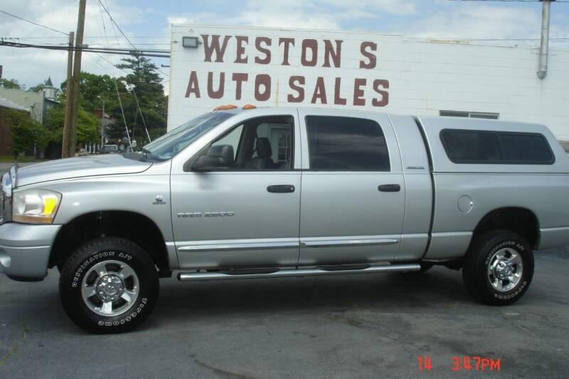 2006 Dodge Ram Pickup 2500 for sale at Weston's Auto Sales, Inc in Crewe VA