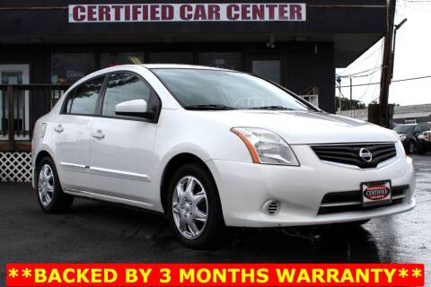 2010 Nissan Sentra for sale at CERTIFIED CAR CENTER in Fairfax VA