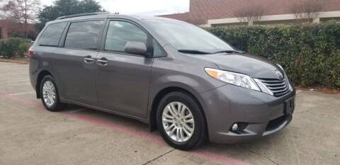 2015 Toyota Sienna for sale at Italy Auto Sales in Dallas TX