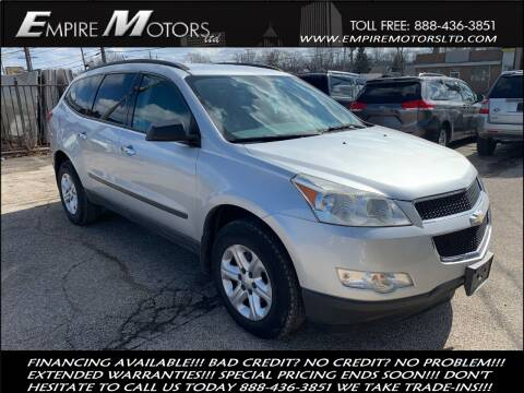 2011 Chevrolet Traverse for sale at Empire Motors LTD in Cleveland OH
