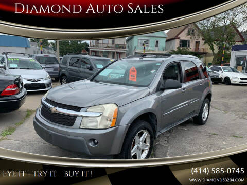 2005 Chevrolet Equinox for sale at Diamond Auto Sales in Milwaukee WI
