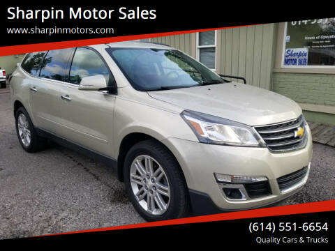 2015 Chevrolet Traverse for sale at Sharpin Motor Sales in Columbus OH