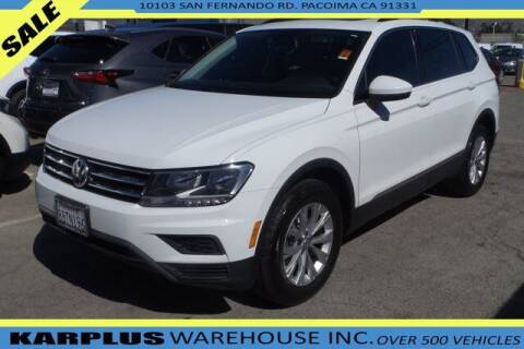2018 Volkswagen Tiguan for sale at Karplus Warehouse in Pacoima CA