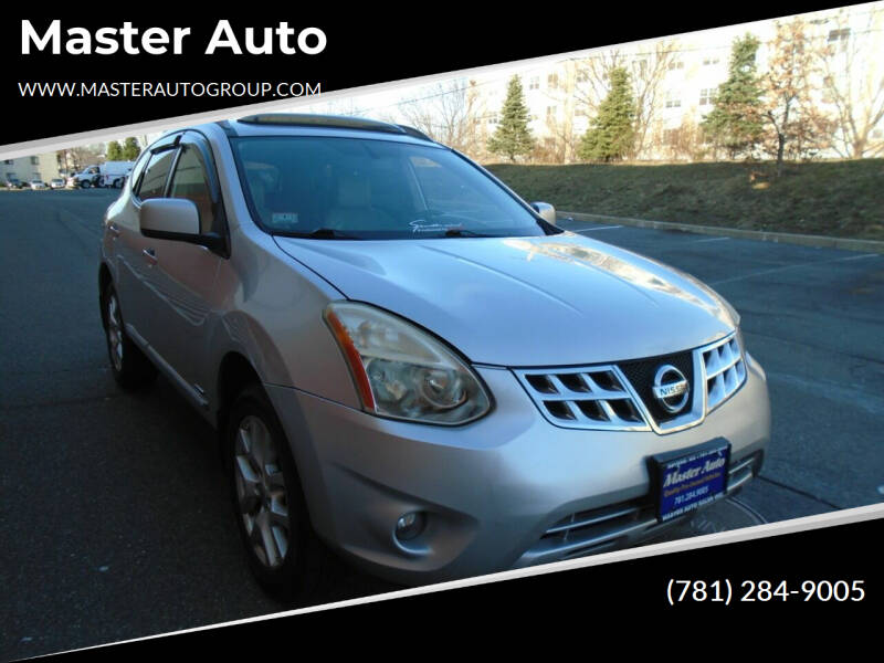 2011 Nissan Rogue for sale at Master Auto in Revere MA