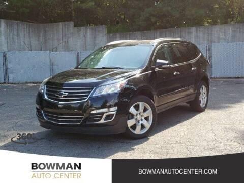 2017 Chevrolet Traverse for sale at Bowman Auto Center in Clarkston MI
