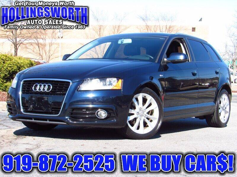 2011 Audi A3 for sale at Hollingsworth Auto Sales in Raleigh NC