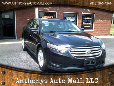 2017 Ford Taurus for sale at Anthonys Auto Mall LLC in New Salisbury IN