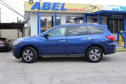 2020 Nissan Pathfinder for sale at Abel Motors, Inc. in Conroe TX