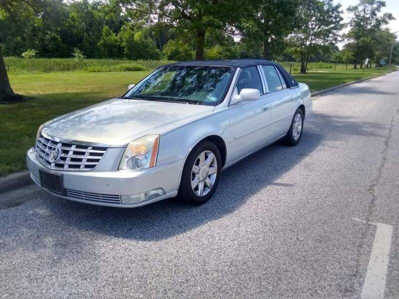 2006 Cadillac DTS for sale at Laurel Wholesale Motors in Laurel MD