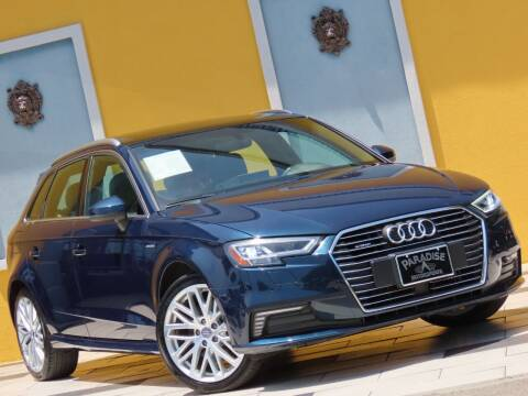 2018 Audi A3 Sportback e-tron for sale at Paradise Motor Sports LLC in Lexington KY