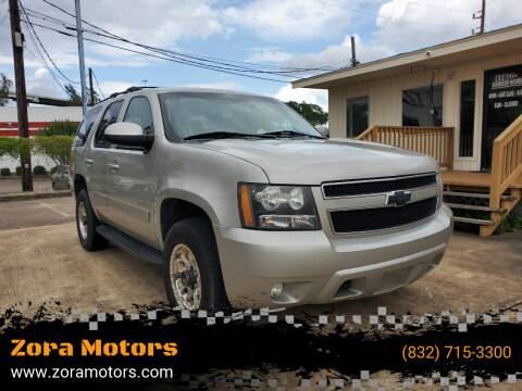 2009 Chevrolet Tahoe for sale at Zora Motors in Houston TX