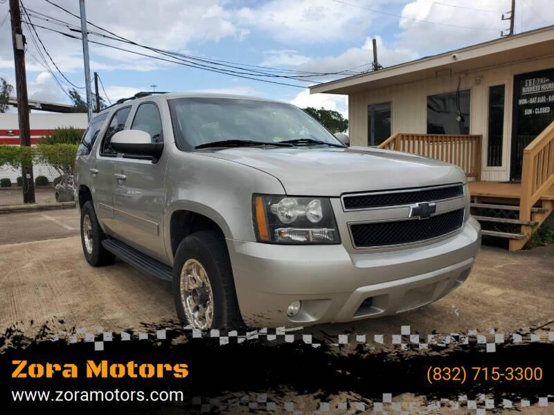 2009 Chevrolet Tahoe for sale at Zora Motors in Houston TX