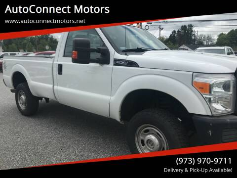 2011 Ford F-250 Super Duty for sale at AutoConnect Motors in Kenvil NJ