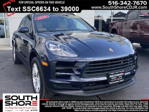 2020 Porsche Macan for sale at South Shore Chrysler Dodge Jeep Ram in Inwood NY
