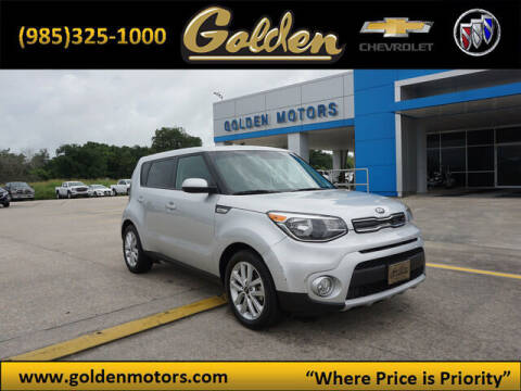 2019 Kia Soul for sale at GOLDEN MOTORS in Cut Off LA
