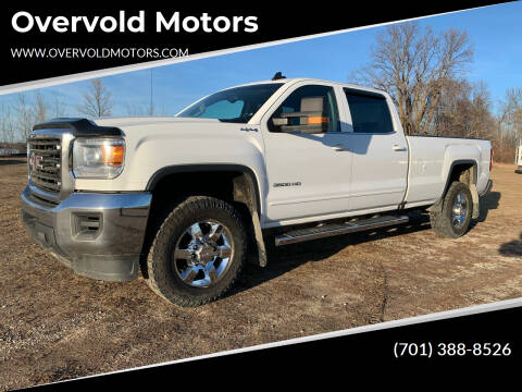 2017 GMC Sierra 3500HD for sale at Overvold Motors in Detriot Lakes MN