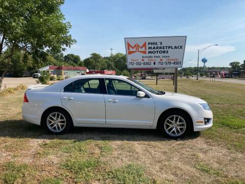 2010 Ford Fusion for sale at Phil's Marketplace Motors in Arnolds Park IA