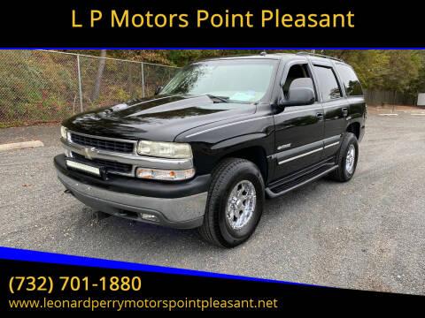 2003 Chevrolet Tahoe for sale at L P Motors Point Pleasant in Point Pleasant NJ
