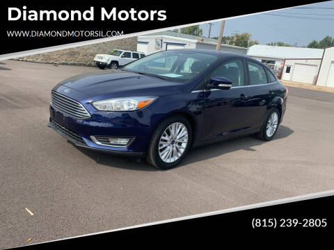 2016 Ford Focus for sale at Diamond Motors in Pecatonica IL