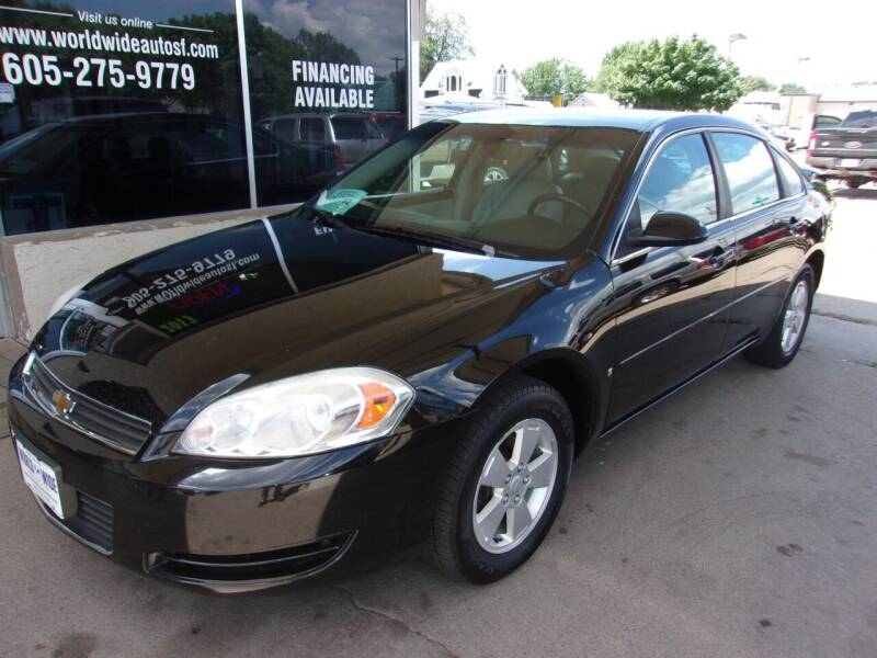 2008 Chevrolet Impala for sale at World Wide Automotive in Sioux Falls SD