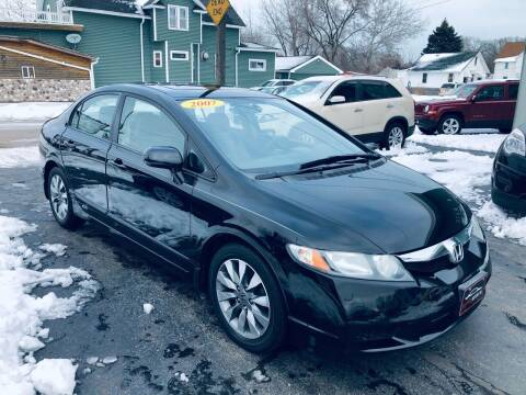 2009 Honda Civic for sale at SHEFFIELD MOTORS INC in Kenosha WI