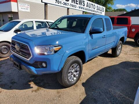 2019 Toyota Tacoma for sale at GOOD NEWS AUTO SALES in Fargo ND